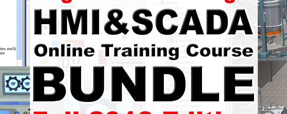 HMI and SCADA Online Course Bundle, Fall 2018