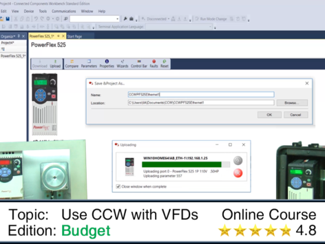 Using CCW with VFDs – The Automation School