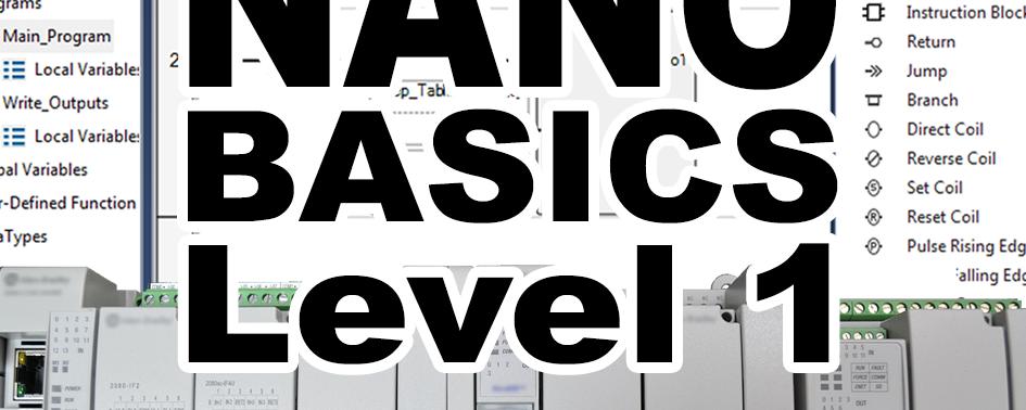 Nano Basics Level 1